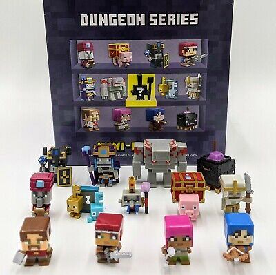 Choose your Minecraft Mini Figure Series 20 Dungeon Series FREE SHIPPING