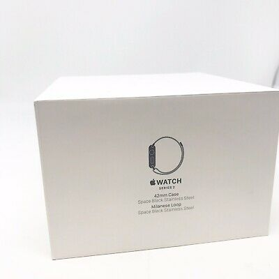 APPLE WATCH SERIES 2 EDITION BOX WHITE