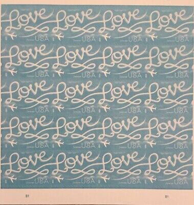 20pcs one Booklet US postage stamps forever