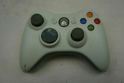 Official Microsoft Xbox 360 White Wireless Controller Genuine - Tested