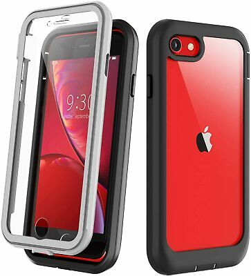 For iPhone SE 2020 iPhone 8  7 Plus Case Cover Shockproof with Screen Protector