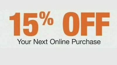 ONE 15 OFF Home Depot X1Coupon -Online Promo Code Save up to 200 expired 1021