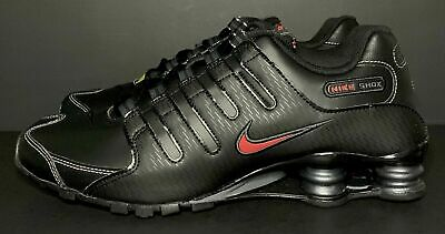 Nike Shox NZ EU Mens Shoes 378341-017 Black Red