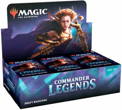 Commander Legends Draft Booster Box - Magic the Gathering MTG - Ships Now