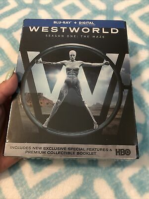 WESTWORLD SEASON 1 BLU RAY BRAND NEW SEALED HBO SPECIAL FEATURES BOOKLET HTF