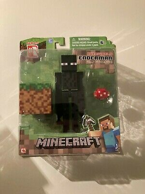 Minecraft Overworld Enderman 3 Figure Series 1-FULL ARTICULATION