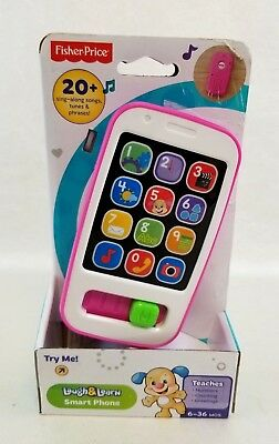 Fisher Price Smart Phone Laugh - Learn Ages 6-36 Months NEW