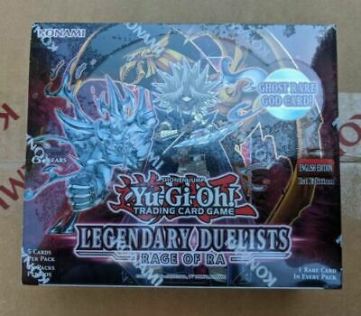 Yugioh Factory Sealed Legendary Duelists Rage Of Ra Booster Box NEW IN-HAND