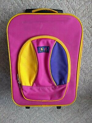 Kids Concourse Rolling Luggage Suitcase Travel Baggage