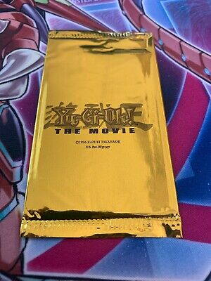 Yugioh - The Movie Promo 2004 Sealed Pack 1 Booster Englisch Limited Edition
