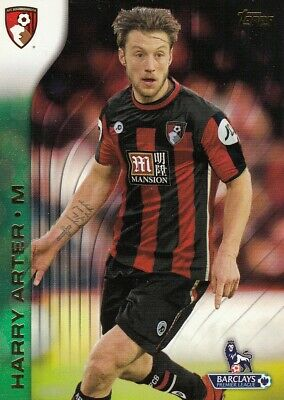 2015-16 Topps English Premier League Gold Green 4 Harry Arter AFC Bournemouth