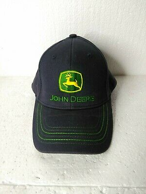 John Deere Est 1837 Baseball Cap Blue Gray Embroidered One Size Fits Most Cotton