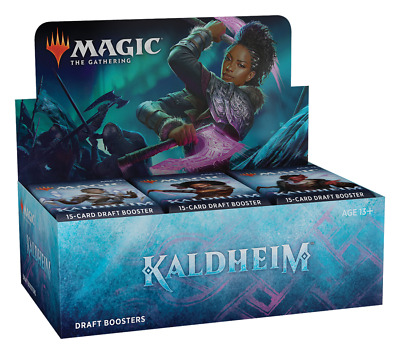 Kaldheim Draft Booster Box - MTG - Brand New Our Preorders Ship Fast