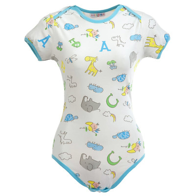 Little for Big Giraffe and Zoo Animals Adult Bodysuit