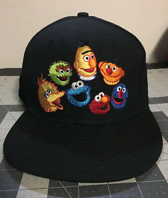 RARE New Era Sesame Street 9Fifty 950 Snapback Hat Cap One Size Adult Owned