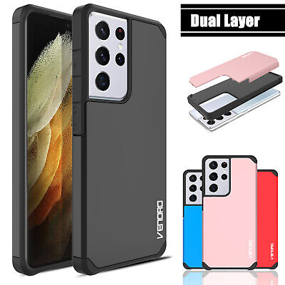 For Samsung Galaxy S21 UltraS21-Plus 5G Phone Case Armor Shockproof Hard Cover