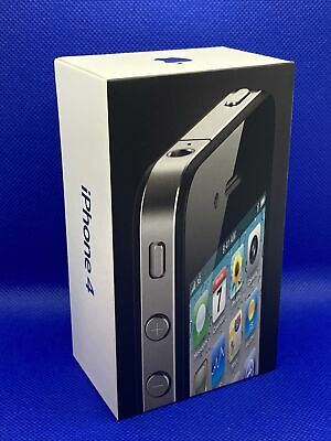Original 2010 Apple iPhone 4 BOX - MANUALS ONLY - Good Condition