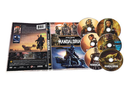 The Mandalorian2-1 DVD Complete First and Second Sea son 6-Disc Set New