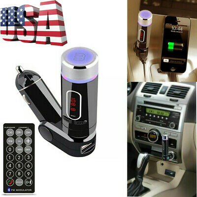 Wireless FM Transmitter Radio Car Kit MP3 Player Car Charger for Smart Phone WF
