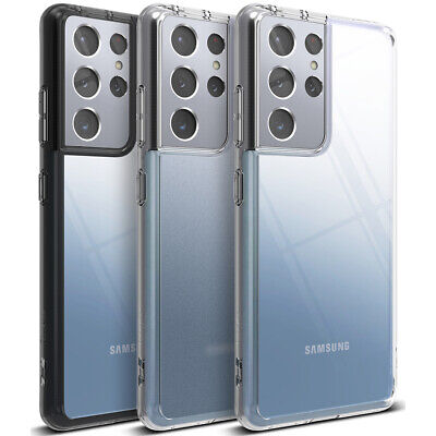 For Samsung Galaxy S21  S21 Plus  S21 Ultra Case  Ringke FUSION Clear Cover