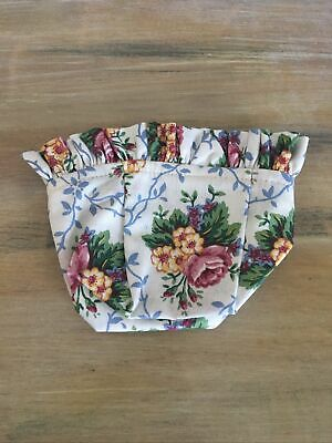 Longaberger Chives Booking Basket Liner - Mother's Day Fabric