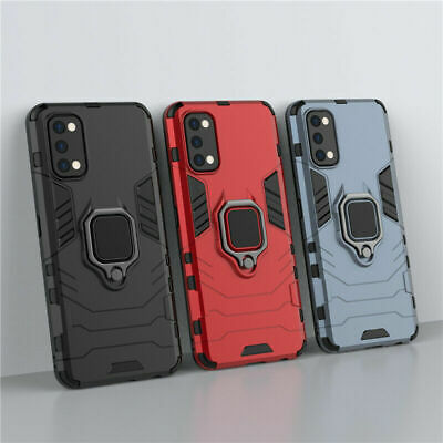 For Realme 7  7 Pro Shockproof Magnetic Armor Ring Kickstand Rugged Case Cover