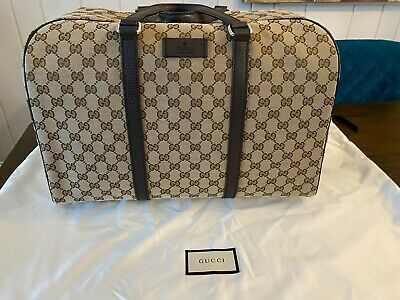 BRAND NEW Gucci Canvas Duffle Bag - GG Monogram TanBrown - NEVER USED