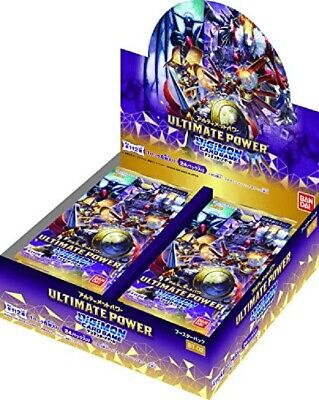 Digimon Card Game TCG Booster ULTIMATE POWER Sealed Box BT-02 BANDAI Japanese