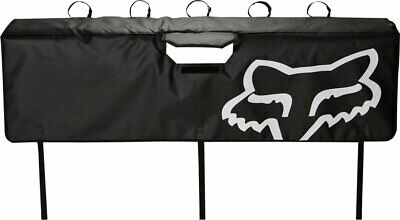 Tailgate Pad - Fox Racing Tailgate Cover Black Large - Tailgate Pad