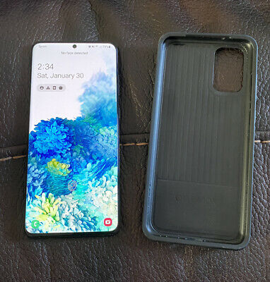 Samsung Galaxy S20 5G 128gb SprintT-Mobile With Otterbox Case Black