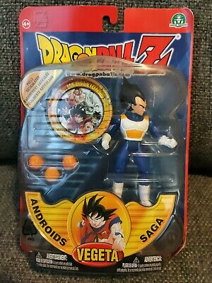 Dragonball Z Androids Saga Vegeta Action Figure By Irwin Toy - Factory Sealed