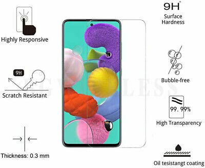 For Samsung Galaxy A32 Transparent Tempered Glass Clear  Screen Protector