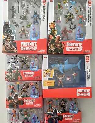 Choose your Fortnite Battle Royal Collection 2-5 inch Action Figures