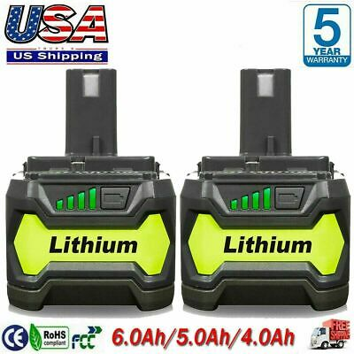 6-0Ah For RYOBI P108 18V 18 Volt One- Plus High Capacity Lithium-ion Battery NEW