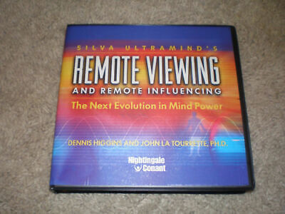 Silva Ultramind REMOTE VIEWING & INFLUENCE (11 CD Set With Workbook CD)
