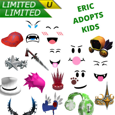 ROBLOX Limiteds Cheap and Safe Limited Collectibles 1hr-3day  READ DESCRIPTION