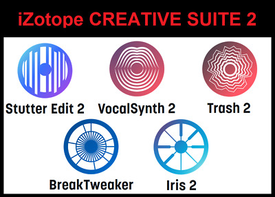 iZotope CREATIVE SUITE 2 Full Retail Download Version -- 5 PRODUCTS!!!