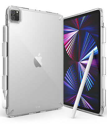For Apple iPad Pro 11 inch Case 2021 Ringke FUSION Clear Pencil Holder Cover