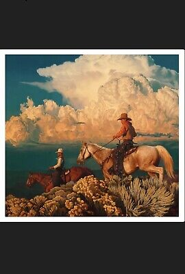 Mark Maggiori Arizona Wonders Print 751 In Hand Cowboy Art Rare Limited Print