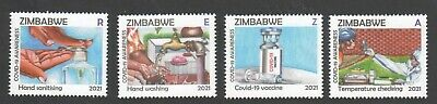 new 2021 ZIMBABWE - AWARENESS stamps MNH - NEW ISSUE 31st MARCH 2021