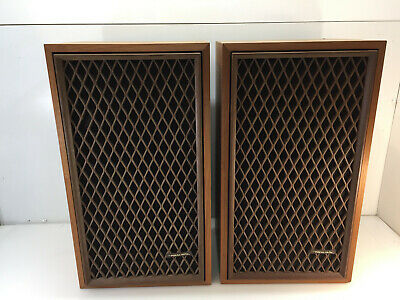 Pair of Vintage Realistic NOVA-10 Speakers Excellent  Free Shipping