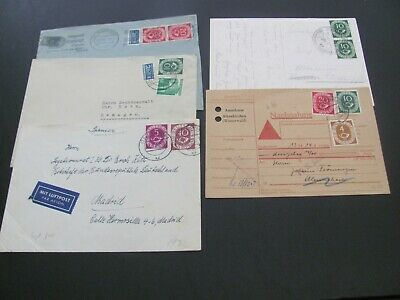 GERMANY 5 POSTHORN COVERS