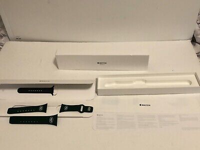 Box ONLY for Apple Watch Series 3 42MM with 4 bands 3 of them are NY Jets