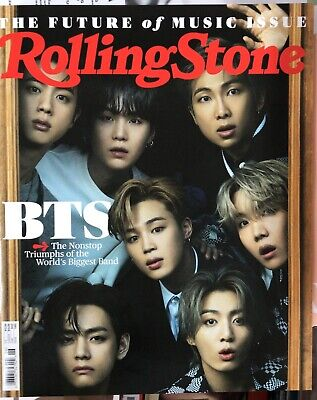 ROLLING STONE MAGAZINE-JUNE 2021-BTS-BTS-BTS-PRE ORDERS-BRAND NEW