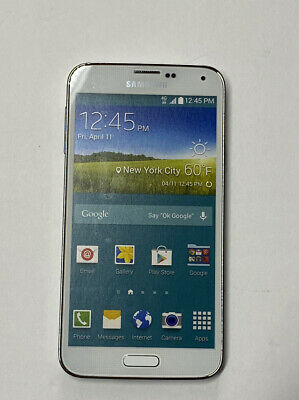 Non-Functioning White Samsung Galaxy S5 Smartphone toy mock dummy phone