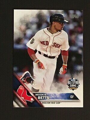 Mookie Betts 2016 Topps Vault Update All Star 11 Authentic Mint ONE OF ONE