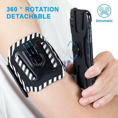 Detachable - 360 Sports Armband Running Phone Holder for iPhone 11 Pro XR XS Max