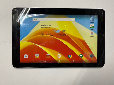 Non-Functioning Black ZTE Z-Pad Tablet toy mock dummy Tablet