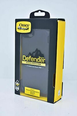 Otterbox Defender Case w Holster for iPhone 8 iPhone 7 iPhone SE 2nd Gen Black