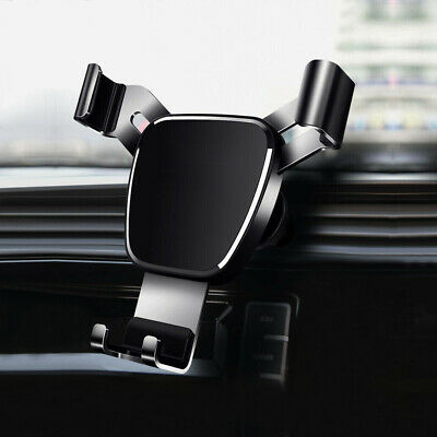 Gravity Car Air Vent Mount Cradle Cell Phone Holder Stand for iPhone 12 Max Pro